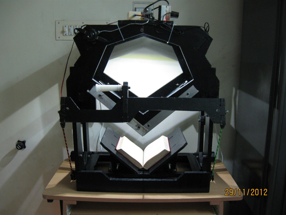 1. Book scanner - Front view.JPG